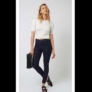 Topshop 'Jamie' High-Waisted Skinny Jeans